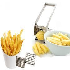 Машинка ручная металлическая для нарезки картофеля фри Potato Chipper . - фото 3