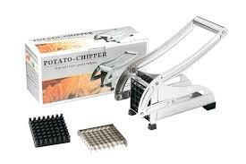 Машинка ручная металлическая для нарезки картофеля фри Potato Chipper . - фото 4