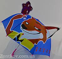 """Детский зонтик с ушками на 2-5 лет от фирмы """"Feeling Rain""""., фото 1"""