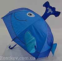 """Детский зонтик с ушками на 2-5 лет от фирмы """"Feeling Rain""""."""