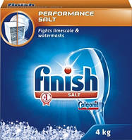 Соль Finish для посудомоечных машин 4 kg