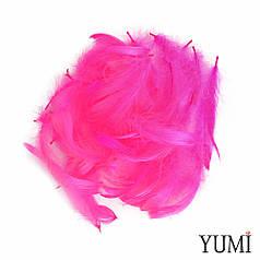 Набор: перья на бабл / Bubble фуксия яркая, 12г