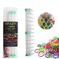 Набор резинок для плетения браслетов Krazy Looms Bandz Set, 600 шт.