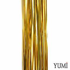 Декор для фотозон Штора дождик золото Металлик