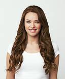 Славянские волосы на капсулах 80 см. Цвет #Каштановый, фото 4