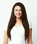 Славянские волосы на капсулах 80 см. Цвет #Каштановый, фото 5