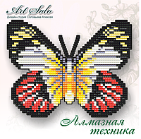 БАТ21. БАБОЧКА-МАГНИТ «АЛАЯ ИЗАБЕЛЬ (DELIAS ARGENTHONA)»