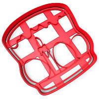 Вырубка для пряников Пасха-штамп 10*9,4 см (3D)