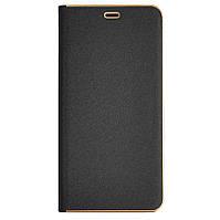 Чехол-книжка для смартфона Samsung Galaxy J8 2018 J810 чёрная Florence TOP №2
