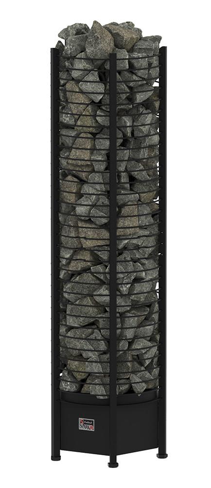 Електрична кам'янка для сауни Sawo Tower Heater TH5-80NB Black