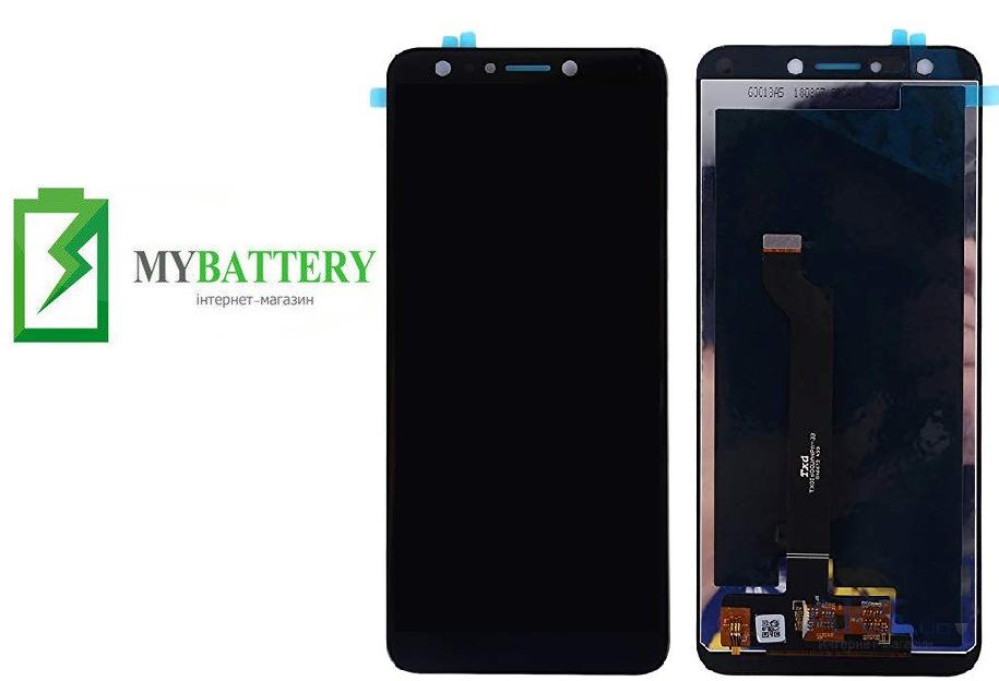 Дисплей (LCD) Asus ZenFone 5 Lite (ZC600KL) с сенсором чёрный