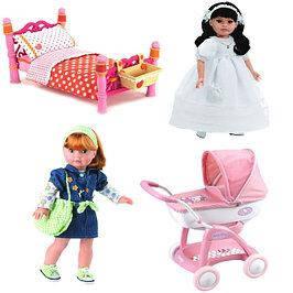 Куклы, игровые домики, пупсы и аксессуары