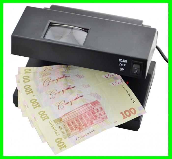 УФ Детектор Валют Банкнот с Увеличением от 220в - 2138