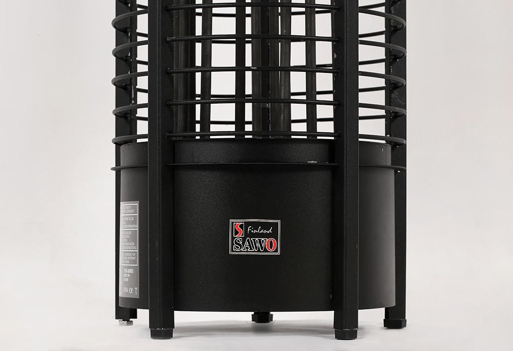 Каменка электрическая для сауны Sawo Tower Heater  TH4-60NS Black