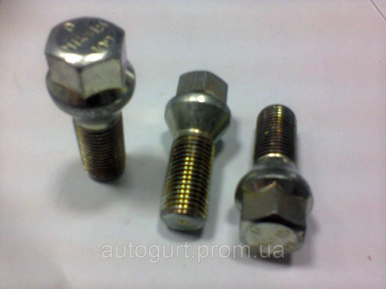 Болт колеса B1769 28mm 10.9 ASS 14x1.5x28 RH тит./хром 10.9 ASS (Audi, VW, Skoda)