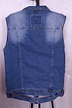 Стильна джинсова жилетка, фото 2