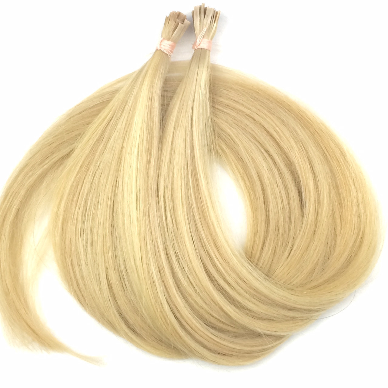 Славянские волосы на капсулах 80 см. Цвет #Блонд, фото 1