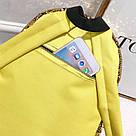 Рюкзак с пайетками школьный для девочки подростка фиолетовый., фото 3