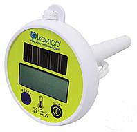 Плавающий термометр на солнечных батареях