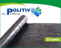 Пленка мульчирующая POLITIV E1103 черная 25мкм, 1,4х1000 м