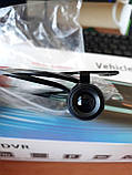 Камера 4,3 зеркало видеорегистратор 2 две камеры с камерой заднего вида регистратор автомобильный, фото 10