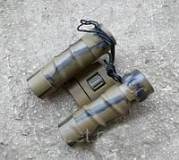 Бинокль TASCO 12х25 camo призма ROOF, компактный + чехол, удобен в эксплуатации выдвижные наглазники