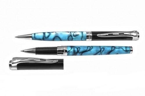"""PC0816BP/RP набор: ручка шариковая + роллер """"Pierre Cardin"""""""