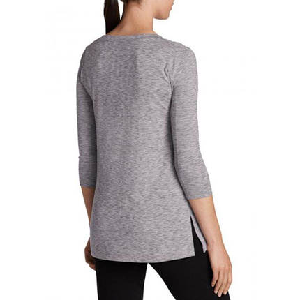 Женская туника Eddie Bauer Womens Tunic Shirt 3/4-Sleeve GRAY (S), фото 2
