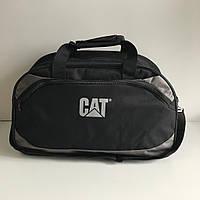 Спортивная сумка CAT унисекс чёрная