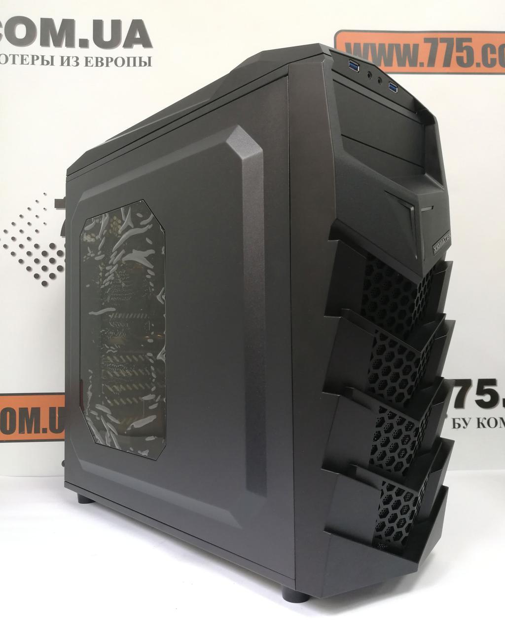 Игровой компьютер, AMD Ryzen 5 1600Х 4.0GHz, 16ГБ DDR4, SSD 120ГБ, HDD 1ТБ, GTX 1060 6ГБ