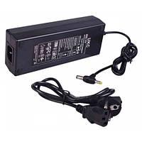 Блок питания адаптер 12V 10A UKC для SMD лент и др.