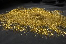 Блестки к жидким обоям  (глиттер) Золото