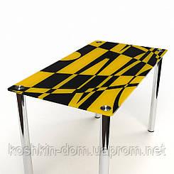 Стол стеклянный Абстракция обеденные столы