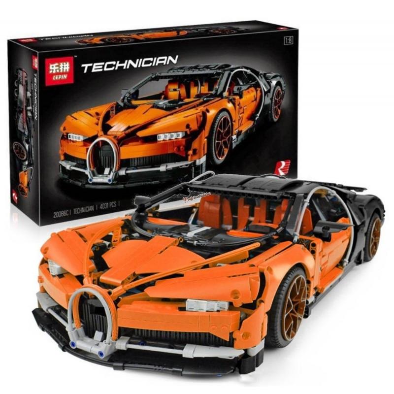 """Конструктор """"Автомобиль Bugatti Chiron"""" Lepin 20086C 4031 деталь"""
