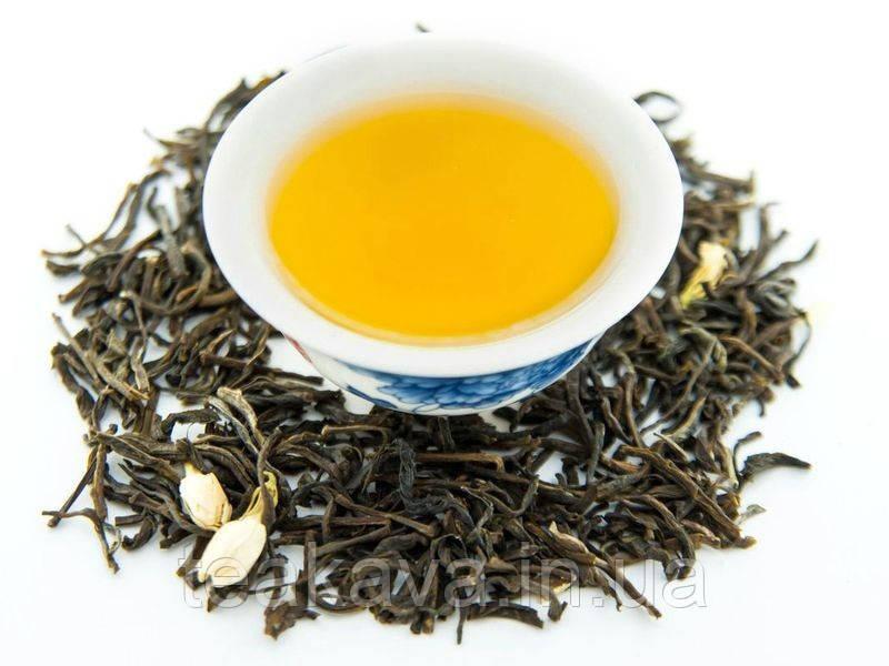 Зеленый с жасмином (чай ароматизированный), 50 грамм