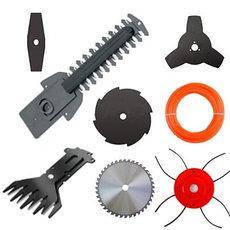 Ножі, волосіні для тримерів і кущорізів