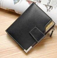 Мужской Кошелек Бумажник Портмоне Baellerry D1282 Black, фото 1