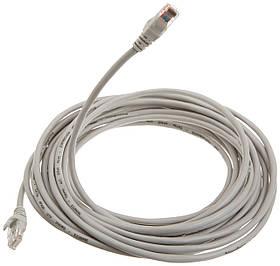 Патч-корд RJ45 30м, мережевий кабель UTP Cat.5E Lan