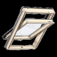 Мансардное окно VELUX Standart GZL 1051 В (дерево) 66*118