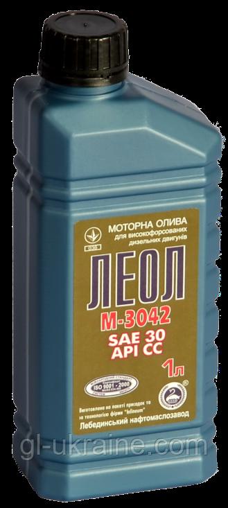 ЛЕОЛ М-3042 Моторное масло  1 л