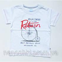 "Aziz bebe, футболка ""Велосипед"" для мальчика"