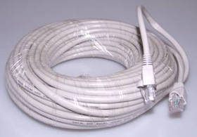 Патч-корд RJ45 10м, мережевий кабель UTP Cat.5E Lan
