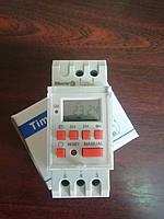 Цифровой недельный таймер TH-15 16А на дин-рейку, ТМ 41, реле времени с аккумулятором