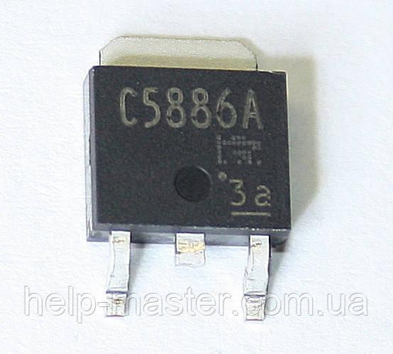 Транзистор 2SC5886A (TO252)