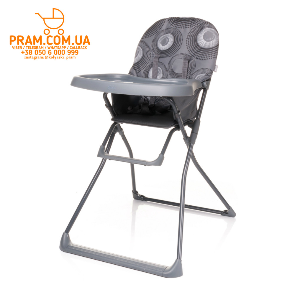 4BABY FLOWER стульчик для кормления Grey Серый