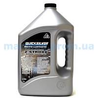 Масло для 2-тактных моторов Quicksilver Premium Plus TC-W3, 4 литра