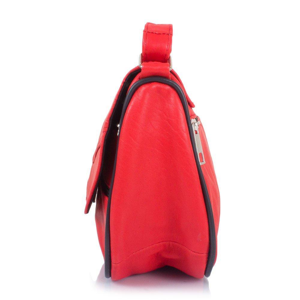 202015767edd Маленькая женская сумка кросс-боди Yunona 2409-1 кожаная коралловая, цена  690 грн., купить в Киеве — Prom.ua (ID#906847786)