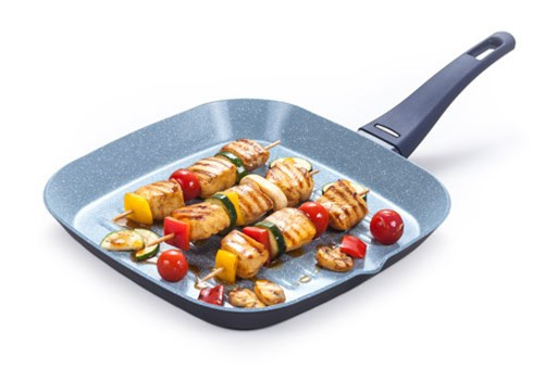 Сковородка гриль Delimano Ceramica Delicia