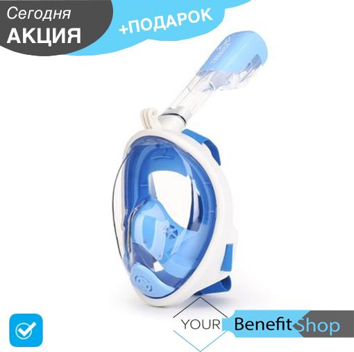 Маска для дайвинга, сноркинга TheNice | панорамная маска на все лицо для подводного плавания
