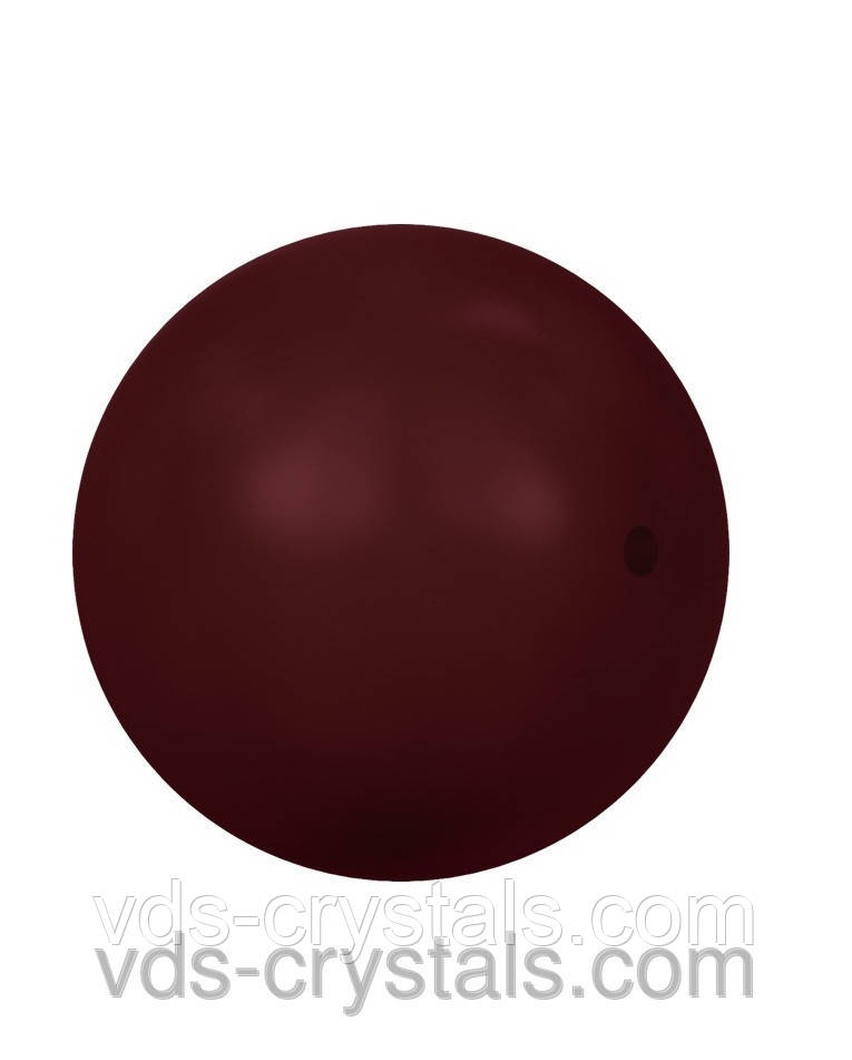 Жемчуг Swarovski круглый 5810 Crystal Bordeaux Pearl (001 538)
